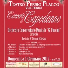 Locandina Concerto di Capodanno 2012