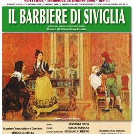Locandina Il Barbiere di Siviglia