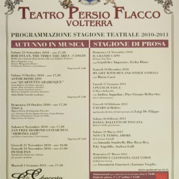 Stagione Teatrale 2010-2011