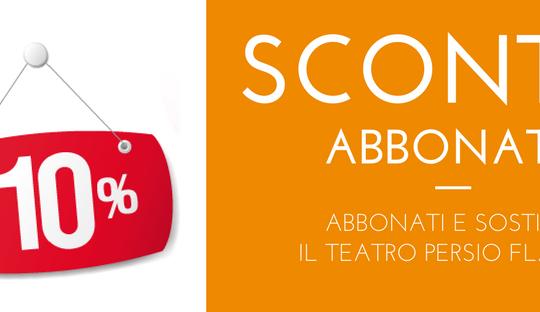 Sconto Abbonati