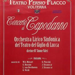 Locandina Concerto di Capodanno 2014