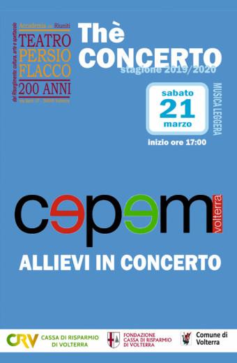 Thé Concerto - Cepem - Allievi in concerto