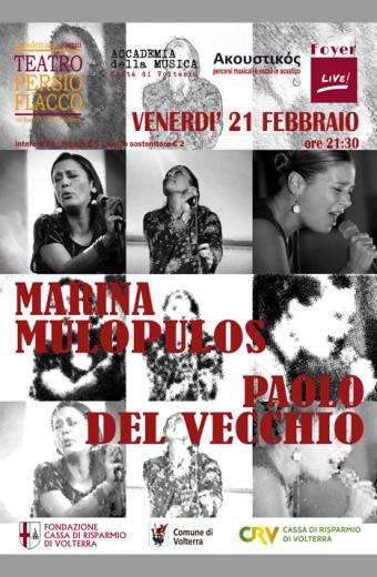 MARINA MARIA PULOS E PAOLO DEL VECCHIO