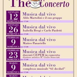 Locandina Thè Concerto